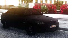 BMW M5 E60 Black Sedan pour GTA San Andreas