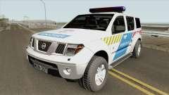 Nissan Pathfinder Magyar Rendorseg (Feher)