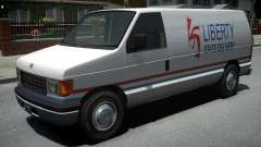 Vapid Steed 1500 Cargo Van