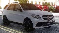 Mercedes-Benz GLE 63s FIX Gray für GTA San Andreas