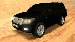 Toyota Land Cruiser 200 Stock pour GTA San Andreas