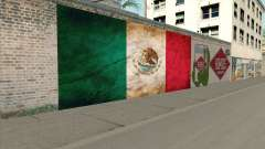 Graffiti De La Bandera De Mexico pour GTA San Andreas