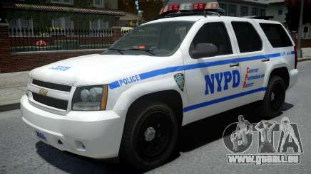 Chevrolet Tahoe NYPD Police 2015 pour GTA 4