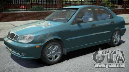 Daewoo Lanos Sedan 1999 pour GTA 4