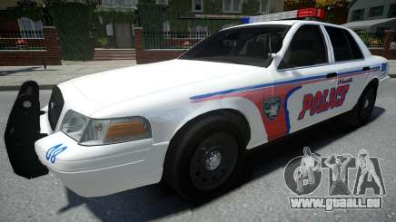 Ford Crown Victoria Woodville Police 2011 pour GTA 4