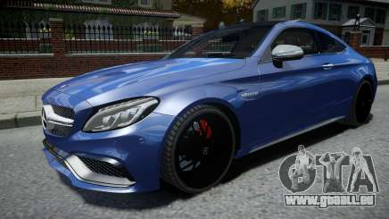 Mercedes-Benz AMG C63 S 2016 pour GTA 4