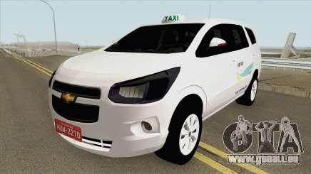 Chevrolet Spin Taxi De Fortaleza pour GTA San Andreas
