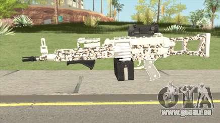 Combat MG MKII Geometry Livery GTA V für GTA San Andreas
