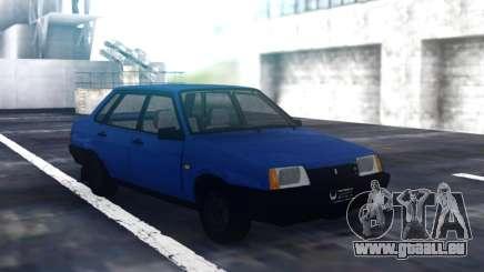 VAZ 21099 Berline Bleu pour GTA San Andreas