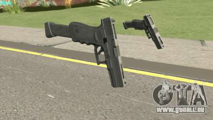 Contract Wars Glock 18 Extended pour GTA San Andreas
