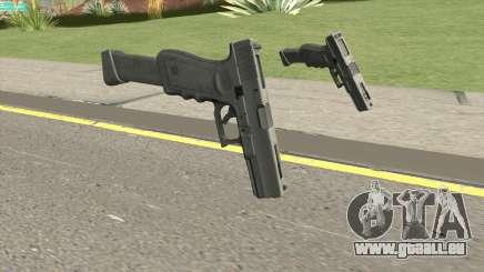 Contract Wars Glock 18 Extended für GTA San Andreas