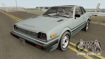 Honda Prelude 1.8l 1980 (US-Spec) pour GTA San Andreas
