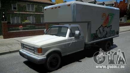 Vapid Sadler Retro Box Truck für GTA 4