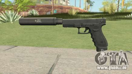 Contract Wars Glock 18 Suppressed pour GTA San Andreas
