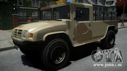 Mammoth Patriot Millitary für GTA 4