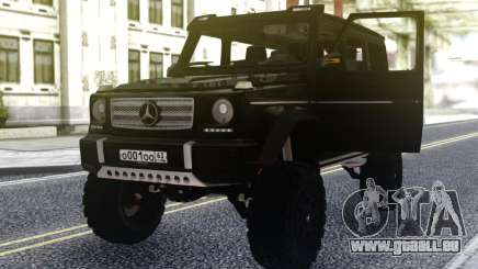 Mercedes-Benz G500 4х4 Noir pour GTA San Andreas