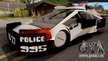 GTA V Zirconium Weaver Cop pour GTA San Andreas