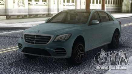 Mercedes-Benz S650 W222 für GTA San Andreas