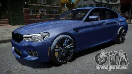BMW M5 F90 2018 für GTA 4