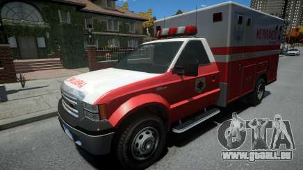 Vapid Sadler Ambulance Non-ELS pour GTA 4