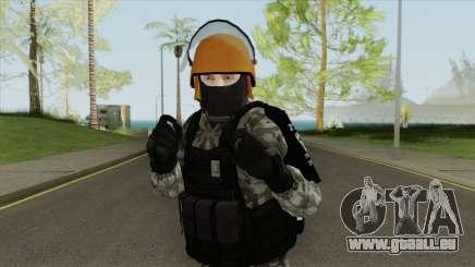 Skin Da Controle de Disturbios pour GTA San Andreas