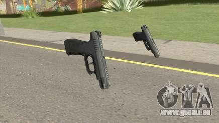 Contract Wars GSh-18 Pistol für GTA San Andreas