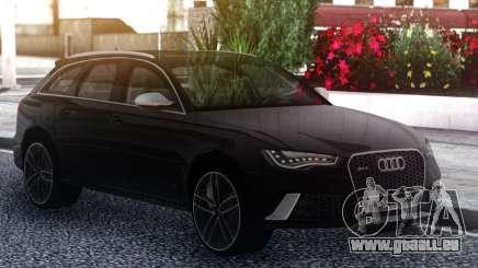 Audi RS6 Black pour GTA San Andreas