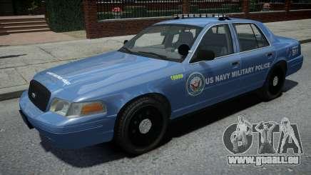 Ford Crown Victoria US NAVY Military Police für GTA 4