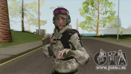 Ela Bosak From Rainbow Six Siege pour GTA San Andreas