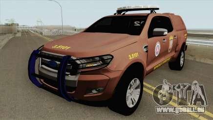 Ford Ranger 2017 Rondesp Sudoeste pour GTA San Andreas