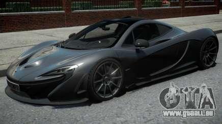 McLaren P1 2013 Black pour GTA 4