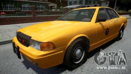 Vapid Stanier Modern Taxi für GTA 4