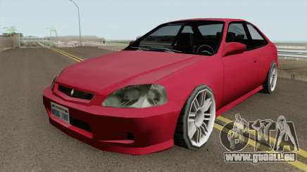 Honda Civic SA Style (Fix) pour GTA San Andreas