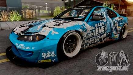 Nissan Silvia S15 Enomoto Takane Itasha für GTA San Andreas