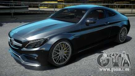 Mercedes-Benz C63S AMG Coupe 2017 pour GTA 4
