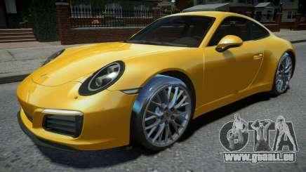 Porsche 911 Carrera S 2017 pour GTA 4