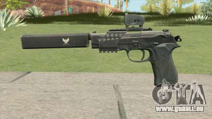 Contract Wars Beretta 92 pour GTA San Andreas
