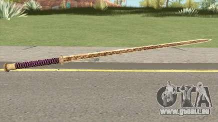 Gold Katana (Dynasty Han) pour GTA San Andreas
