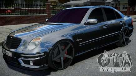 Mercedes-Benz E63 W211 AMG Black pour GTA 4