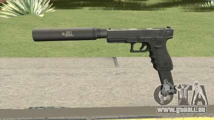Contract Wars Glock 18 Extended Suppressed pour GTA San Andreas