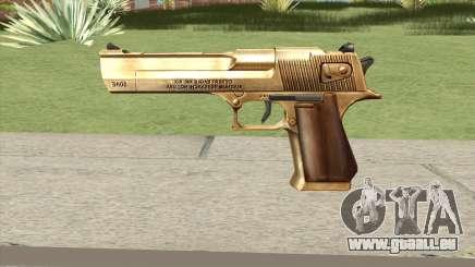 Desert Eagle Gold GTA IV für GTA San Andreas