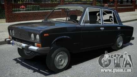 VAZ 2106 Schwarz für GTA 4