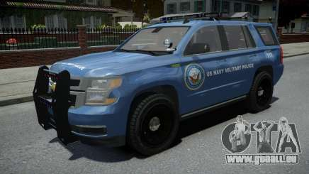 Chevrolet Tahoe US NAVY Military Police pour GTA 4