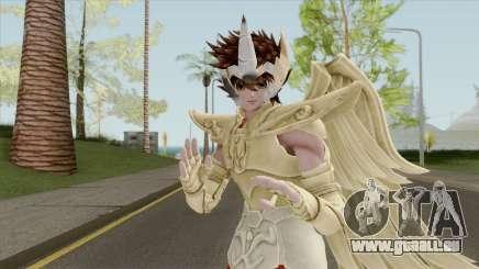 Pegasus Seiya In Sagittarius Golden Armor pour GTA San Andreas