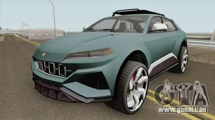 Pegassi Toros GTA V HQ für GTA San Andreas