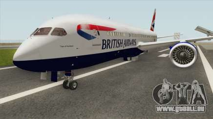 Boeing 787-8 Dreamliner (British Airlines) pour GTA San Andreas