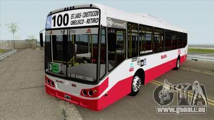 Linea 100 Todobus Pompeya II Agrale MT17 Interno pour GTA San Andreas