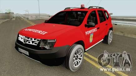 Dacia Duster Pompierii 2016 pour GTA San Andreas