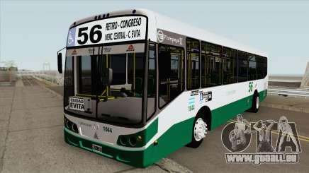 Linea 56 Todobus Pompeya II Agrale MT15 Interno pour GTA San Andreas