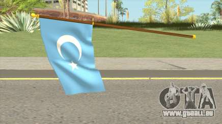 Flag Of East Turkestan pour GTA San Andreas